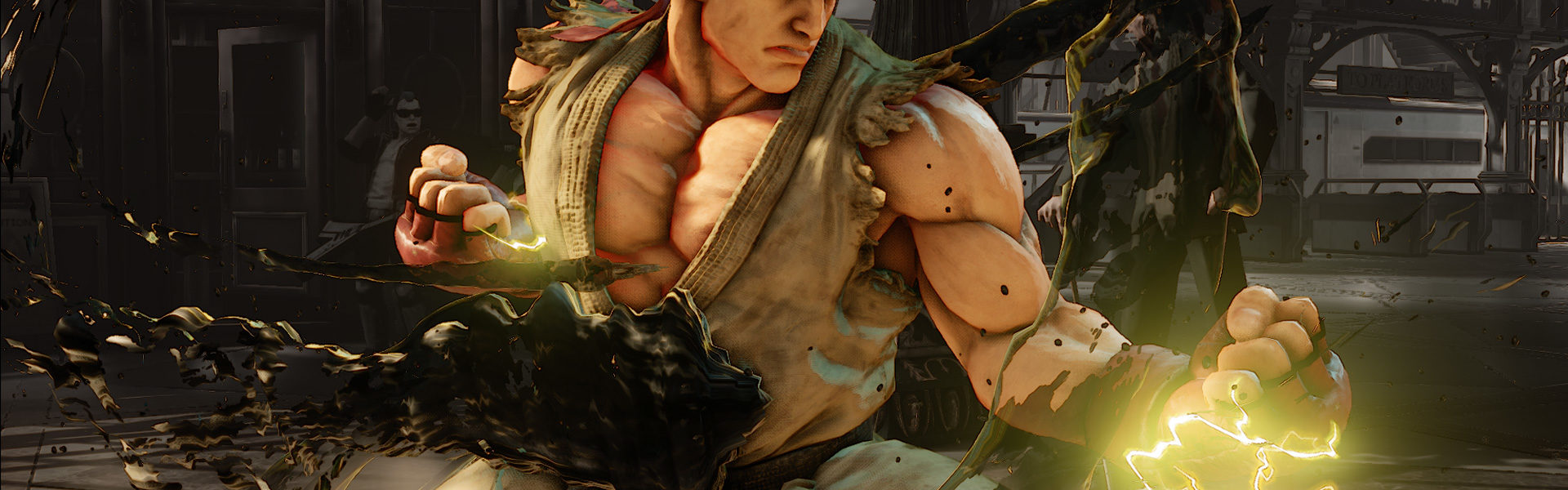Neue Street Fighter Screens