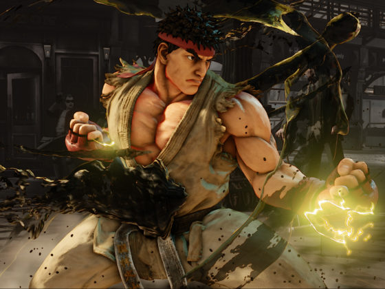 Neue Street Fighter Screens