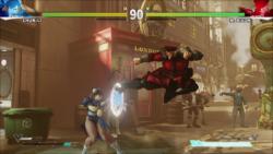 Bison Jump Kick (HUD ON)