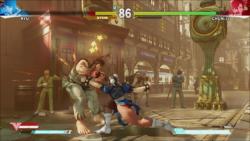 Chun-Li Punch (HUD ON)