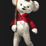 Lotties Eisbären-Kostüm für Cypher